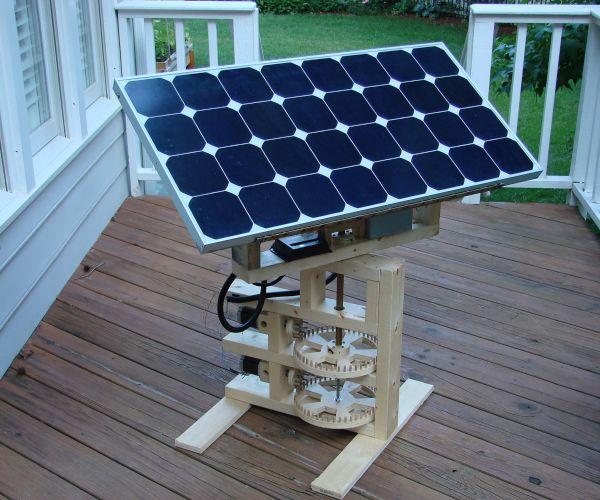 DIY Solar tracker