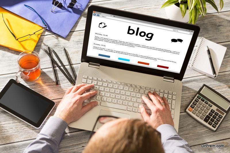 Start a green blog