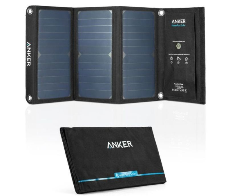 Anker 21W Dual USB Solar Phone Charger