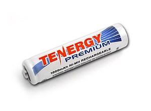 Tenergy Rechargeable AAA Battery