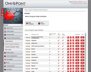 One Point Program