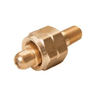 CGA 555 – 1/4″ MNPT FITTING (brass)