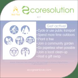 Eco resolutions (get active) | ecogreenlove