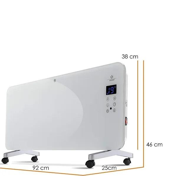 Glass Convector Heater