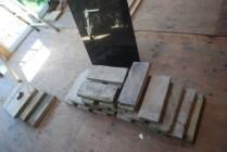 Reclaimed granite and stones