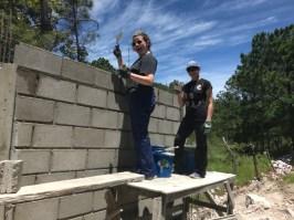 Building the perimeter wall