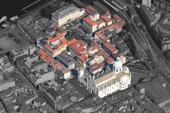 Pubblicati i concorsi per le piazze Roma e Volta