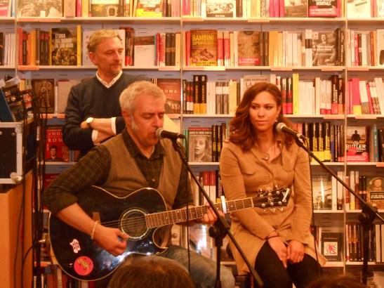 Davide Van De Sfroos e Leslie Abbadini