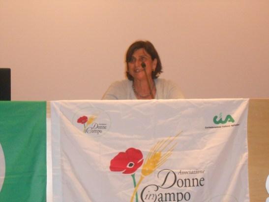 Chiara Nicolosi, coordinatrice Donne in campo