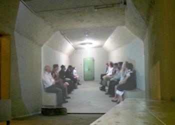 Inaugurato alla Croce Rossa il museo del rifugio antiaereo