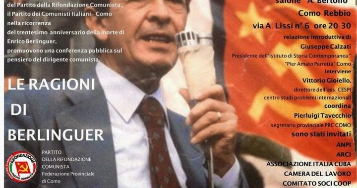 Le ragioni di Berlinguer