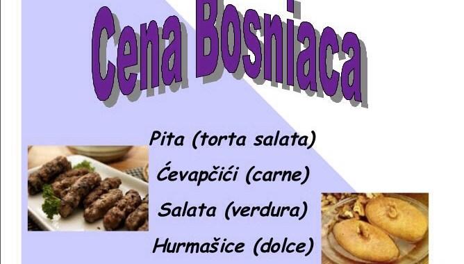 12 luglio/ Cena bosniaca a Rebbio