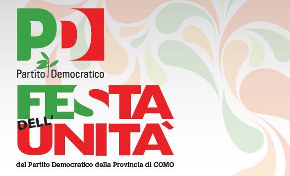 23, 24 e 25 settembre/ Festa dell'Unità a Como