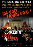 Locandina Gospel 4 Africa - 12 Luglio 2014