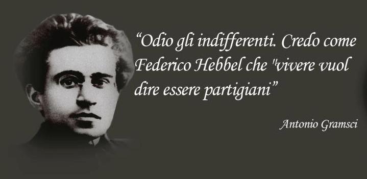 19 aprile/ Arciwebtv/ Antonio Gramsci/ Odio gli indifferenti