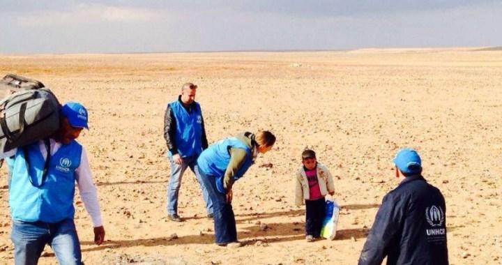 1 marzo/  Il bambino che cammina nel deserto