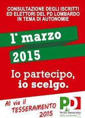 23 febbraio/ Assemblea Pd per la consultazione sulle autonomie locali