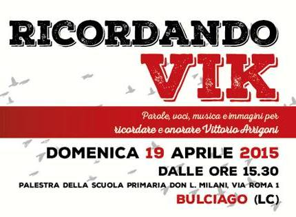 19 aprile/ Ricordando Vik