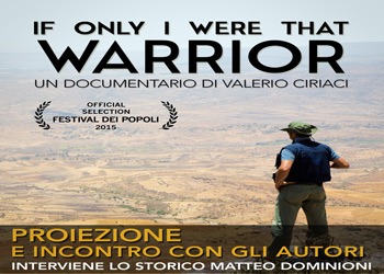 8 dicembre/ If only i were that warrior al Gloria