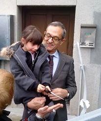 Vincenzo Sapere regala un ascensore al Centro anziani di Prestino