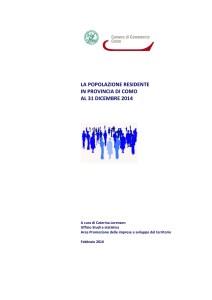 Report_Popolazione