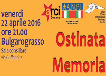 22 aprile/ César Cabrera a Bulgarograsso con Arci, Anpi e Istituto Perretta