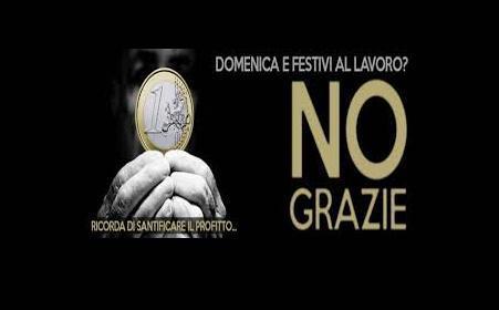 Sciopero del commercio il 1 maggio per la dignità del lavoro