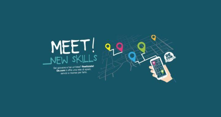 13 maggio/ presentazione Meet! New Skills