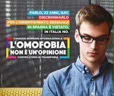 17 maggio/ Giornata internazionale contro l'omofobia