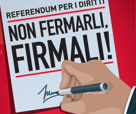 26mila firme a Como contro l'attacco del governo Renzi ai diritti
