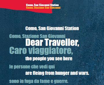 Bella Como/ Lettera al viaggiatore che arriva a Como San Giovanni