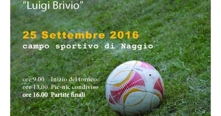 25 settembre/ Torneo antirazzista Arci a Naggio