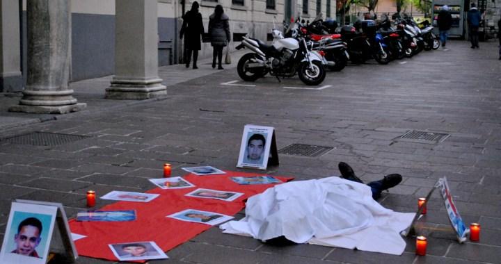 Settima marcia per i nuovi desaparecidos/ la bella Como latita