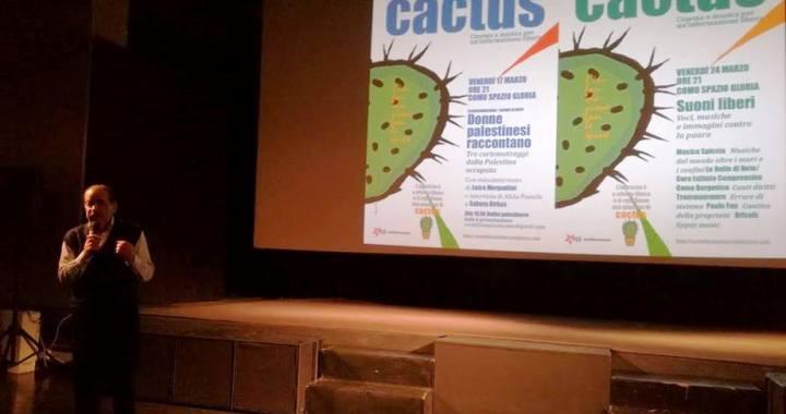"""Cactus/ 100 persone al Gloria per """"Lotto marzo"""" delle donne palestinesi/ ecoinformazioni 568"""