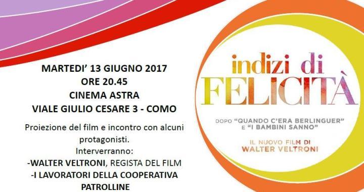 13 giugno/ Walter Veltroni Traglio e Indizi di felicità