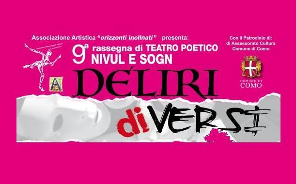 """7, 9, 12 ottobre/ IX rassegna di teatro poetico """"Nivul e sogn"""""""