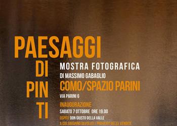 """7 ottobre / """"Paesaggi dipinti"""". Inaugurazione mostra di Massimo Gabaglio"""
