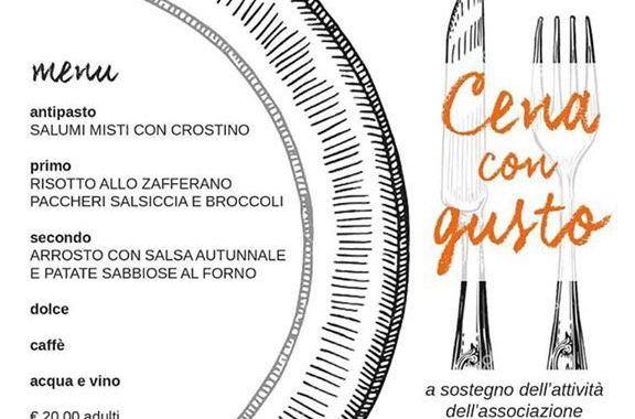 25 novembre/ Guanzate/ Cena con gusto
