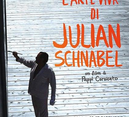 """12 e 13 dicembre/ """"L'arte viva di Julian Schnabel"""""""