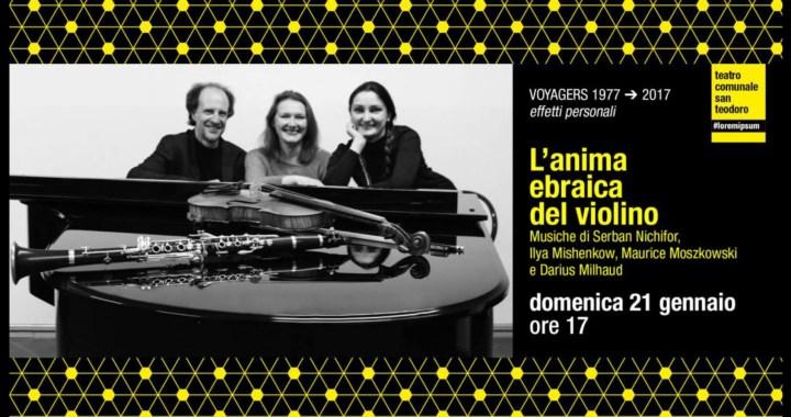 21 gennaio/ Cantù/ L'anima ebraica del violino