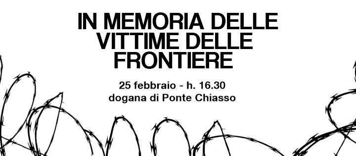 """25 febbraio/ CONFERMATA """"In memoria delle vittime delle frontiere"""": XXI Marcia per i nuovi desaparecidos"""