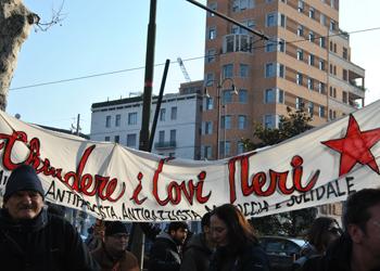 Milano, 10 febbraio: un corteo spontaneo contro fascismo e razzismo