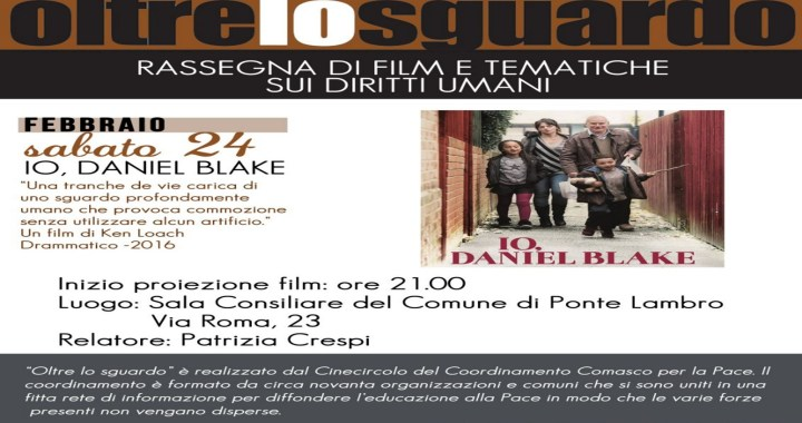24 febbraio/ Io, Daniel Blake