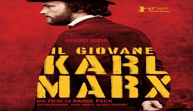 """5, 6 e 7 aprile/ """"Il giovane Karl Marx"""" allo Spazio Gloria"""