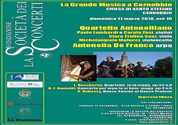 11 marzo/ La grande musica a Cernobbio