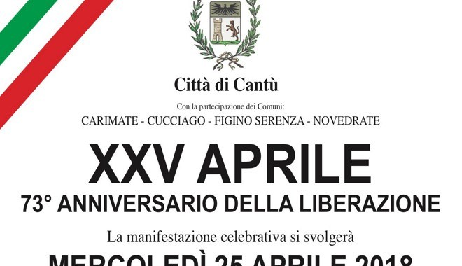 25 aprile/ La festa della Liberazione a Cantù
