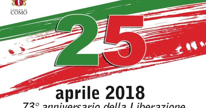 25 aprile/ La celebrazione della Liberazione del Comune di Como