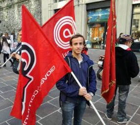 Tommaso Meroni nuovo portavoce Giovani comunisti/e Como