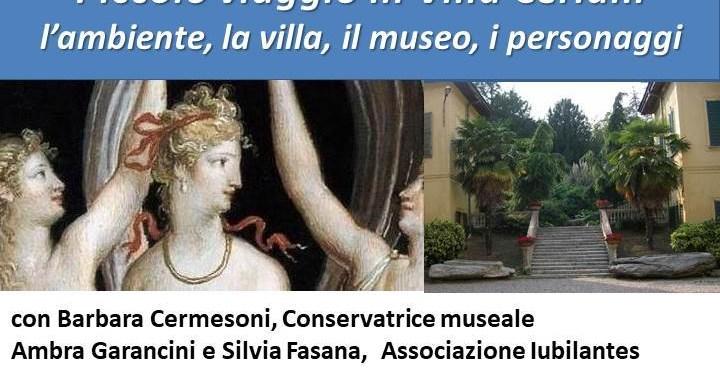 30 giugno/ Erba/ Piccolo viaggio in villa Ceriani