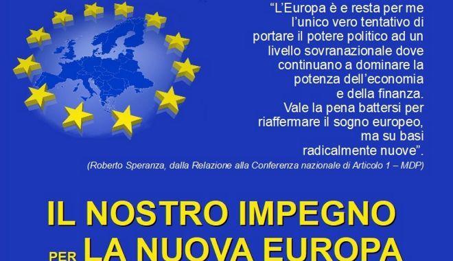 30 luglio/ Il nostro impegno per l'Europa